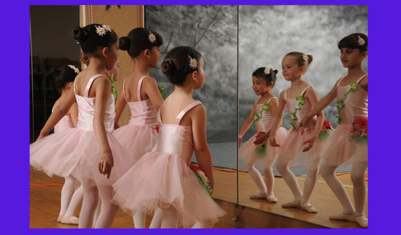 students of Richmond Hill dance school Bravo! The Centre for Dance