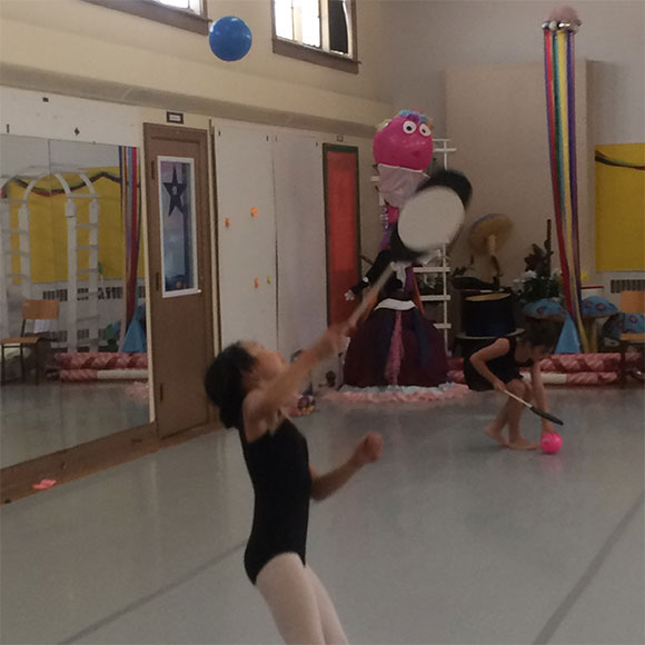 students of Richmond Hill dance school Bravo! The Centre for Dance Summer Camp