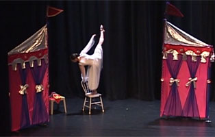 scene from How the Bravo Kids Found Their Magic, 2008 year end recital