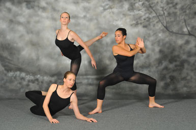 modern dance students