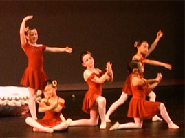 scene from year end recital, 2010
